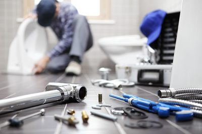 One way to conduct plumbing maintenance of your Louisville, KY home is to make sure the toilet is not leaking.